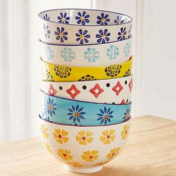 Mix + Match Printed Bowls Set - Urban Outfitters