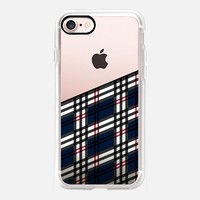 Scottish Tartan - Transparant iPhone 7 Case by Nicklas Gustafsson | Casetify