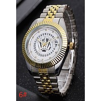 Rolex Popular Women Men Personality Business Sport Movement Couple Wrist Watch 6# I-YY-ZT