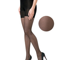 Uptown Tight-End Tights® Micro Fishnets
