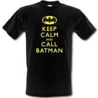 Batman - Keep Calm and Call Batman t-shirt *ALL SIZES*