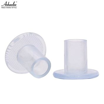 70 Pairs / Lot Heel Protectors High Heeler Antislip Silicone Latin Stiletto Dancing Shoes Covers Heel Stoppers For Wedding Party