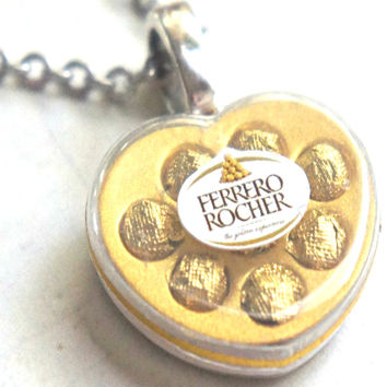 Valentine's Ferrero Rocher Chocolate Necklace