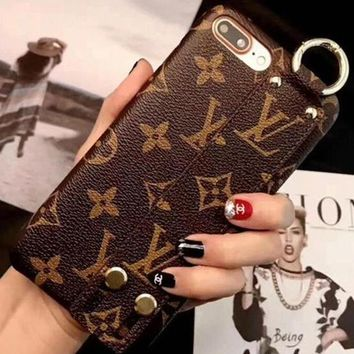 LV Louis Vuitton Fashion Print iPhone Phone Cover Case For iphone 6 6s 6plus 6s-plus 7 7plus 8 8plus