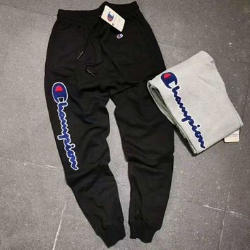 PEAPUF3 Champion Stretch Leggings Sweatpants Exercise Fitness Sport Nine points Pants Trousers G-A-GHSY-1