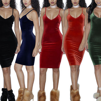 Solid Sexy Dress Women Sleeveless Hollow Out Knee-Length Club Vestidos Autumn Dresses 2016 New Fashion