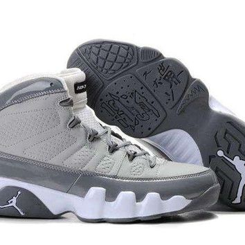 AIR JORDAN 9 (COOL GRAY/ GRAY/ WHITE)