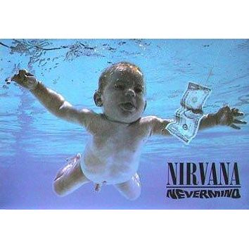 NIRVANA POSTER Nevermind RARE NEW HOT 24X36