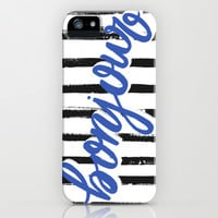 Bonjour! iPhone & iPod Case by magicmaia