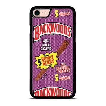 ONLY BACKWOODS CIGARS iPhone 8 Case