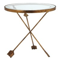 Arthur Glass Table | Accent Tables & Stools | Occasional Tables | Living Room | Furniture | Z Gallerie