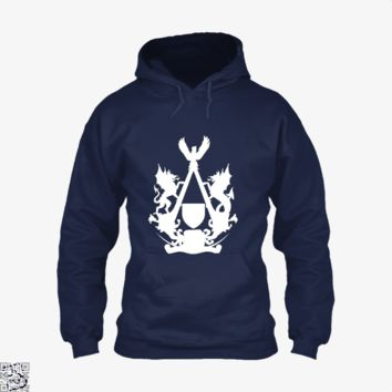 Welsh Assassin's Insignia Grayscale, Assassin's Creed Hoodie