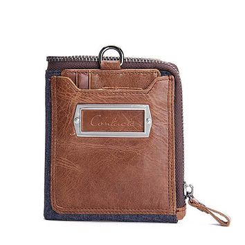 Men's Genuine Leather Wallets
