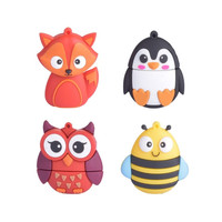 The  cute Animal pen drive external storage usb pendrive 4GB 8g 16g 32g 64g usb flash drive Flash Card memory stick  usb stick