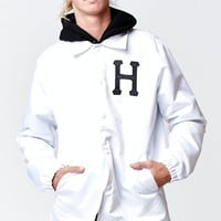 HUF Satin Baseball Jacket - Mens Jacket