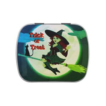 Halloween Jelly Belly Candy Tin