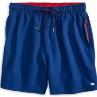 Solid Swim Trunks in Yacht Blue by Southern Tide
