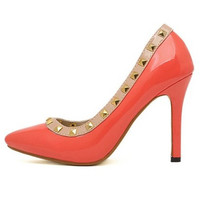 ClubCouture United States -  adrienne heels in coral - Shoes