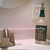 Jack Daniel's Repurposed Bottle Soap Dispenser