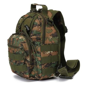 Climbing bag  Outdoor Sports backpack Tactical travelling Pack Sling Single Shoulder Chest Bag Pack camping hiking Backpack KO_4_1