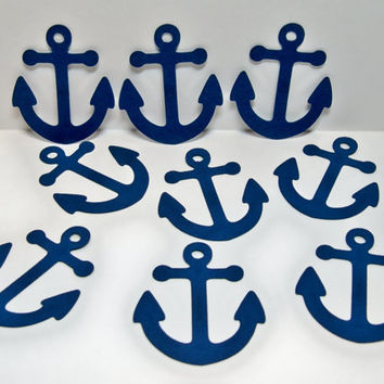 50 Anchor Die Cuts/ Anchor Tags/ Beach or Destination Wedding
