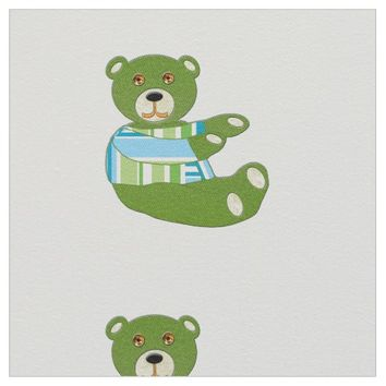 Vida Loca Bear Fabric