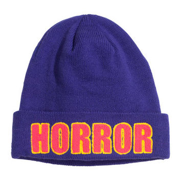 Knitted Hat - from H&M