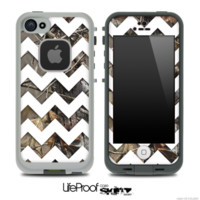 Camo Chevron life proof cases