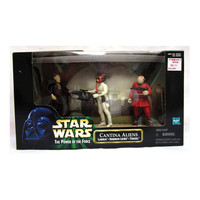 Cantina Aliens Star Wars Power of the Force Episode I Action Figure 3-Pack