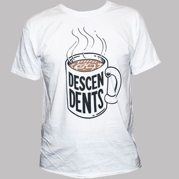 SHIRT THE DESCENDENTS T-shirt Punk Rock Band Milo Graphic Printed Band Music Men's Tee White