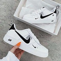 Boys & Men NIKE AIR FORCE 1 AF1 OW Fashion Sneakers Sport Shoes