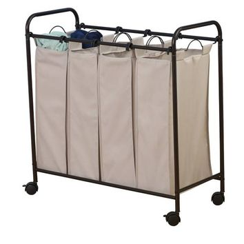 Household Essentials® Rolling Quad Laundry Sorter