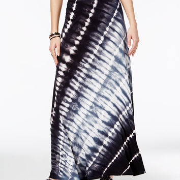 INC International Concepts Tie-Dyed Maxi Skirt, Only at Macy's - Skirts - Women - Macy's
