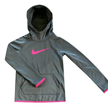 NIKE Youth Girls Therma Training Hoodie Pullover