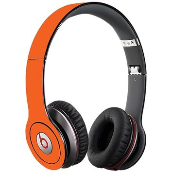 Tangerine Skin for the Beats Solo HD by skinzy.com
