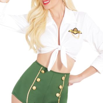 Pin Up Military Costume, Sexy Military Outfits, Adult Women Military Costumes