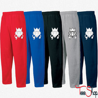 diamond crown graffiti Sweatpants