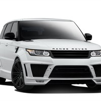 2014-2015 Land Rover Range Rover Sport AF-2 Wide Body Kit - 14 Piece