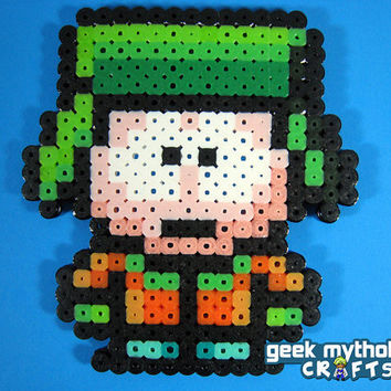 SOUTH PARK Kyle Broflovski Perler Bead by GeekMythologyCrafts