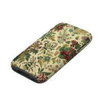 Old Fashioned Floral Abundance Iphone 3 Tough Cover from Zazzle.com