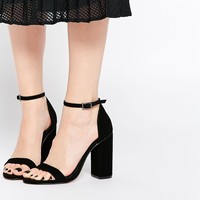 ASOS HERE GOES Heeled Sandals