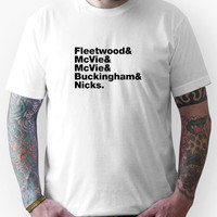 Fleetwood Mac Names Unisex T-Shirt