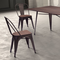 Jonathan Dining Chair - Wood Seat