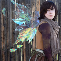 Medium/Large Iridescent Flighty Fairy Wings