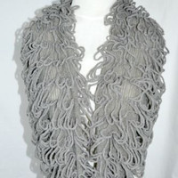 Infinity Scarf Loops Knit Excellent Condition