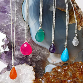 Semi Precious Gemstone Necklaces