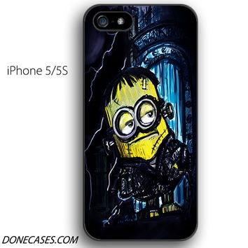 minions frankenstein iPhone 5 / 5S Case