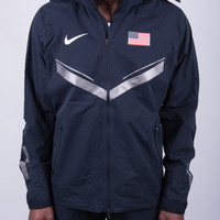 USATF - Online Store - Nike USATF Men's Official '12 Rain Jacket