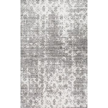 nuLOOM Contemporary Granite Mist Shades Grey Rug (5' x 8') | Overstock.com Shopping - The Best Deals on 5x8 - 6x9 Rugs