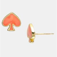 kate spade new york 'spade to spade' mini stud earrings | Nordstrom